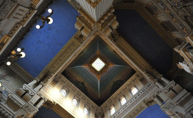 בתי כנסת שבועות, בית הכנסת הגדול ברומא - 4 (צילום: Stefano Meloni)