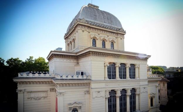 בתי כנסת שבועות, בית הכנסת הגדול ברומא - 1 (צילום: Stefano Meloni)