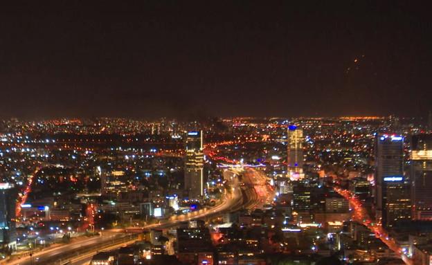 יירוטים בתל אביב (צילום: N12)