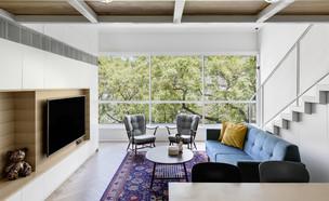 דירה בקריית אונו, עיצוב בריק רווה אדריכלים - 7 (צילום: איתי בנית)