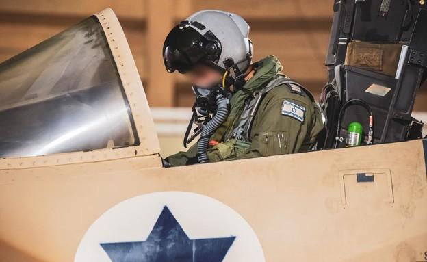 """טייס חיל האוויר (צילום: דובר צה""""ל )"""