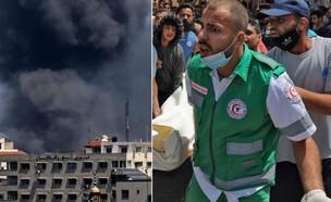 הרצועה השבוע (צילום: MAHMUD HAMS / AFP, GettyImages)