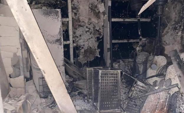 מרקטו שריפה  (צילום: עמית שחר)