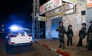 כוחות משטרה בלוד (צילום: יוסי אלוני, פלאש 90)