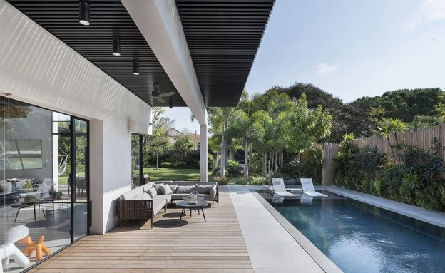 מים שבועות, עיצוב נוימן חיינר אדריכלות, בריכה חברת פלגים - 2 (צילום: עמית גושר)