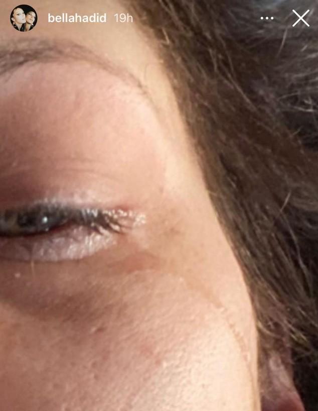 בלה חדיד בוכה מול המצלמות (צילום: instagram)