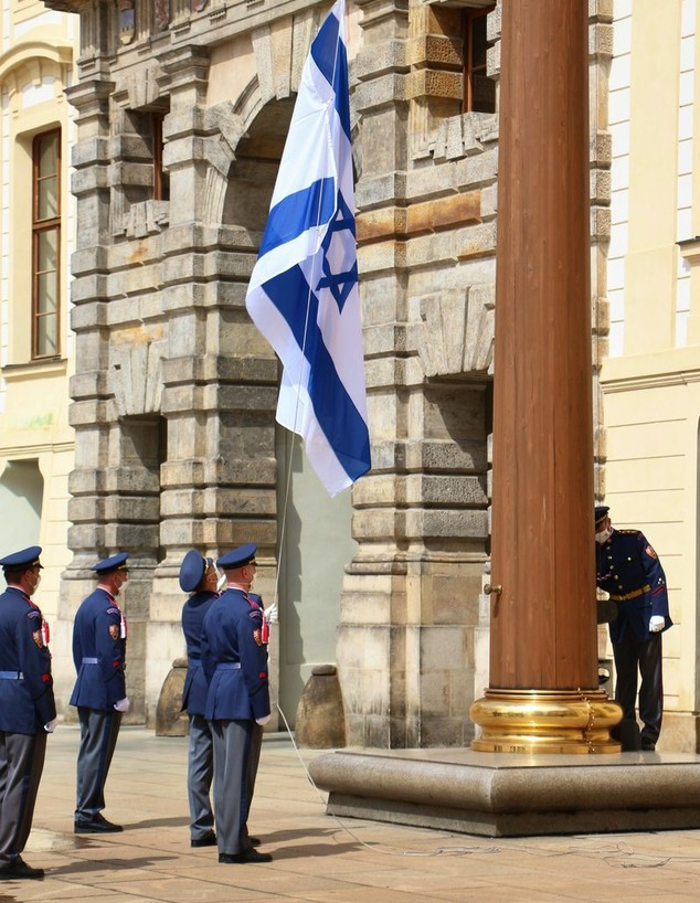 אירוע תמיכה בישראל נערך בצ'כיה