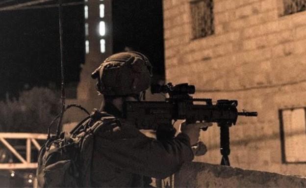 """מעצרים ביישובים ערבים (צילום: דובר צה""""ל )"""