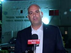 ראש עיריית לוד יאיר רביבו  (צילום: החדשות 12)