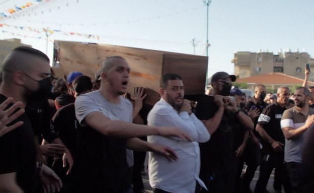 התפרעויות בין ערבים ליהודים (צילום: החדשות 12, החדשות12)