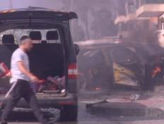 פגיעה באשקלון  (צילום: החדשות 12)