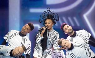 עדן אלנה בחזרה השנייה לקראת אירוויזיון 2021 (צילום: EBU/ Andres Putting)