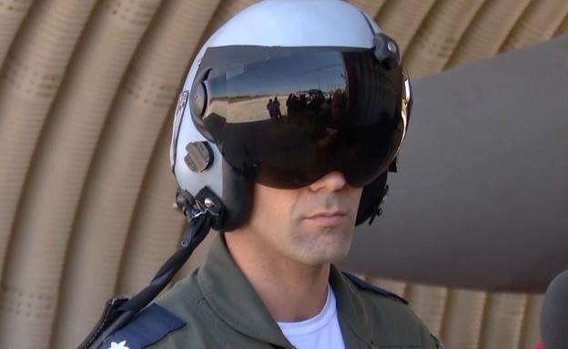 סגן מפקד טייסת F15 מדבר על תקיפות צה