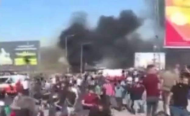ירי בכיכר איוש