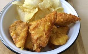שניצל דג משודרג (צילום: עז תלם, אוכל טוב)