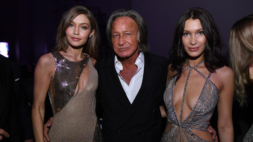 בלה, מוחמד וג'יג'י חדיד (צילום: Dimitrios Kambouris Getty Images for Victoria's Secret)