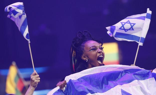 עדן אלנה שמחה שמחה (צילום: EBU / ANDRES PUTTING)