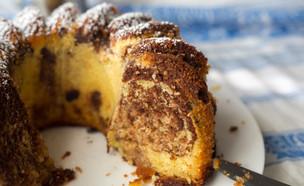 עוגת סולת שיש שוקו-תפוז (צילום: קרן אגם, אוכל טוב)
