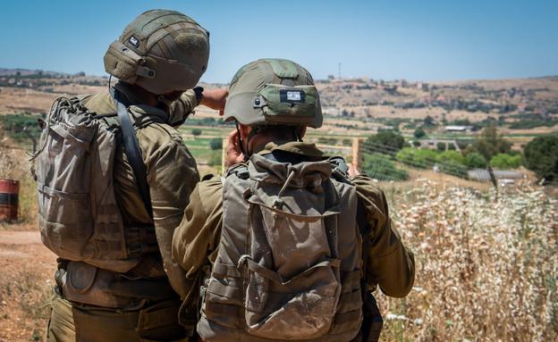 """צה""""ל, חיילים, לוחמים, לוחם, גבול לבנון (צילום: באסל עווידאת, פלאש 90)"""