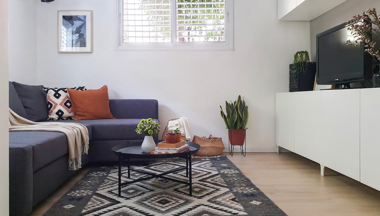 דירה בתל אביב, עיצוב רננה פרץ