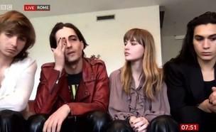 מונסקין זוכי האירוויזיון האיטלקים (צילום: מתוך יוטיוב)