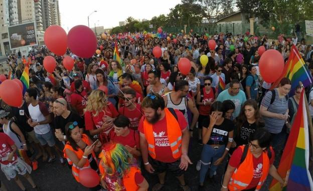 מצעד הגאווה בבאר שבע (צילום: בית גאה בבאר שבע)