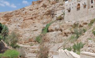מסע ישראלי לוואדי קלט (צילום: אריה טננבאום, מתוך אתר פיקיויקי, מסע ישראלי)