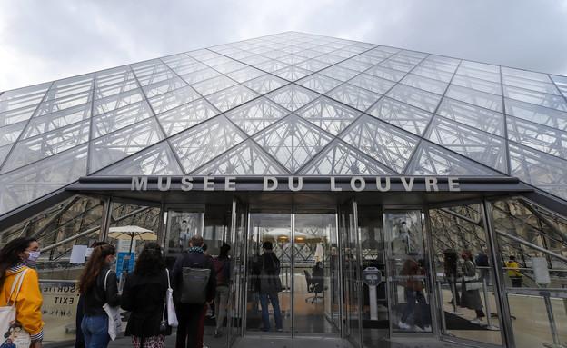 מוזיאון הלובר (צילום: Marc Piasecki, Getty images)