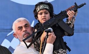 יחיא סינוואר (צילום: EMMANUEL DUNAND/AFP, GettyImages)