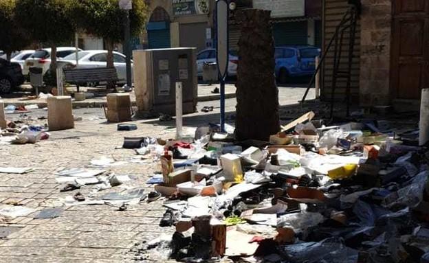 ההרס בעיר העתיקה בעכו