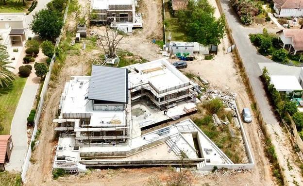 בנייה ירוקה, הבית של משפחת רשף (צילום: אדריכל איל יוסינגר)