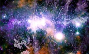 """מרכז שביל החלב בתמונה של נאס""""א (צילום: נאס""""א)"""