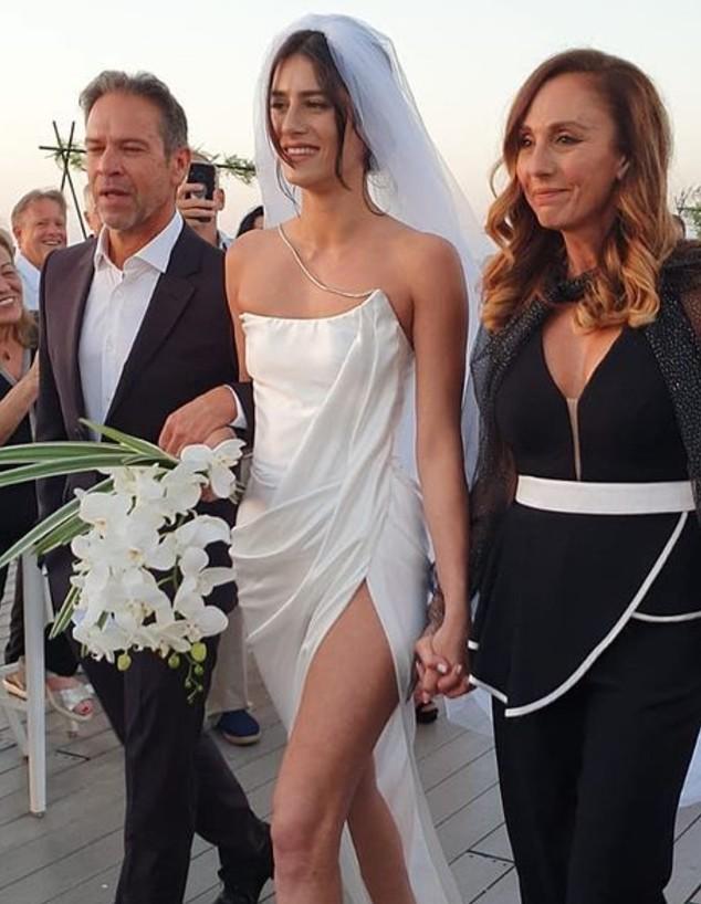 ארבל קינן התחתנה. מאי 2021 (צילום: מתוך האינסטגרם של ניבר מדר)