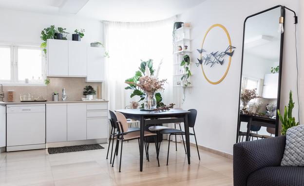 דירה בתל אביב, עיצוב מירב רינגל (צילום: טלי קנדל)