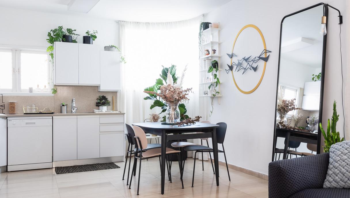 דירה בתל אביב, עיצוב מירב רינגל