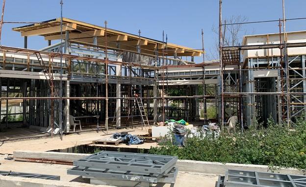 בנייה ירוקה, הבית בגאליה (צילום: אדריכל איל יוסינגר)