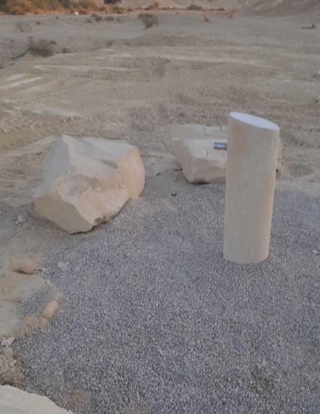 נקודת מים שהותקנה אתמול בנחל ציחור (צילום: רשות הטבע והגנים)