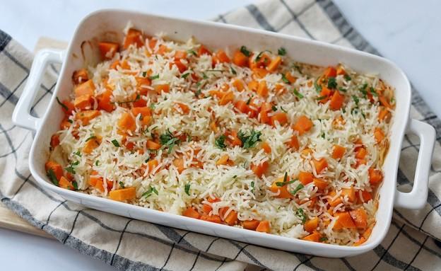 אורז כתום (צילום: רון יוחננוב, אוכל טוב)