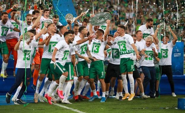 מכבי חיפה אלופה 2021 (צילום: אורטל דהן זיו)