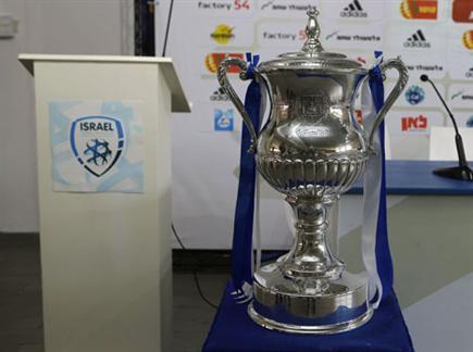 גביע המדינה. מחכה לזוכה שתניף אותו (צילום: אלן שיבר) (צילום: ספורט 5)