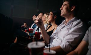 הגבלות קורונה בקולנוע (צילום: shutterstock By Jacob Lund)