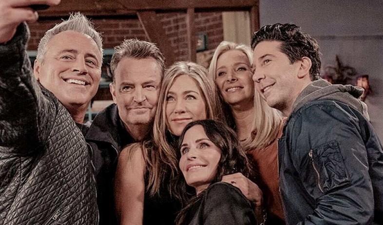 חברים (צילום: Warner Bros. Television; HBO max)