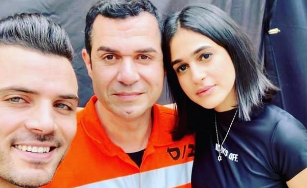 בתאל משיאן, איציק כהן וישראל אטיאס (צילום: צילום פרטי)