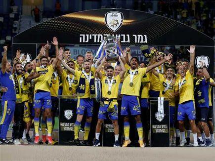 בפעם ה-24, הגביע צהוב (אלן שיבר) (צילום: ספורט 5)