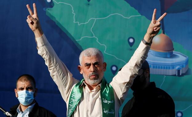 מנהיג חמאס בעזה יחיא סינוואר (צילום: רויטרס)