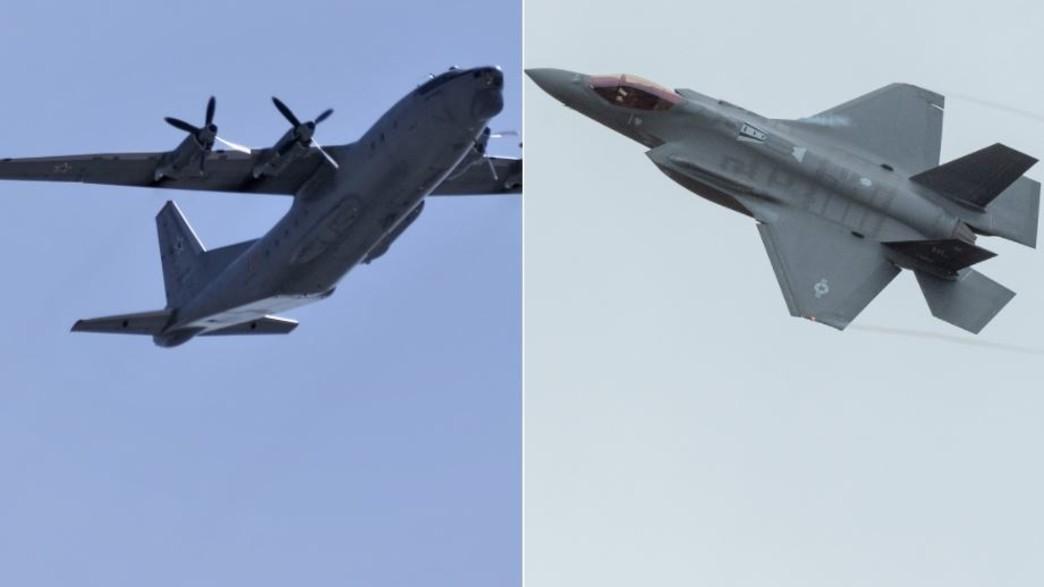מטוסי חילות האוויר (צילום: Andre1_ns Shutterstock/RAIGO PAJULA AFP, GettyImages)