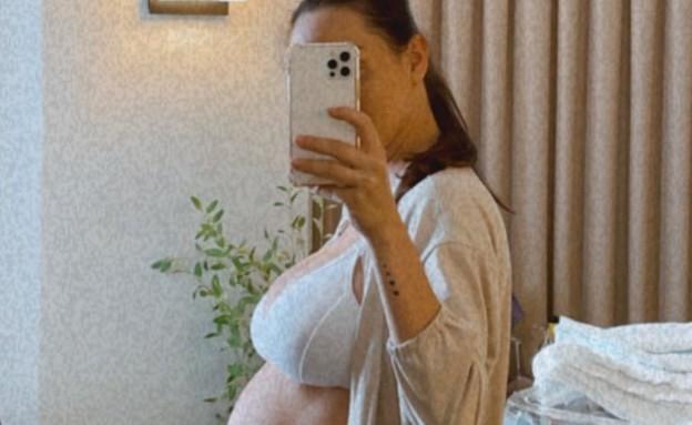 אנה ארונוב אחרי לידה (צילום: instagram)
