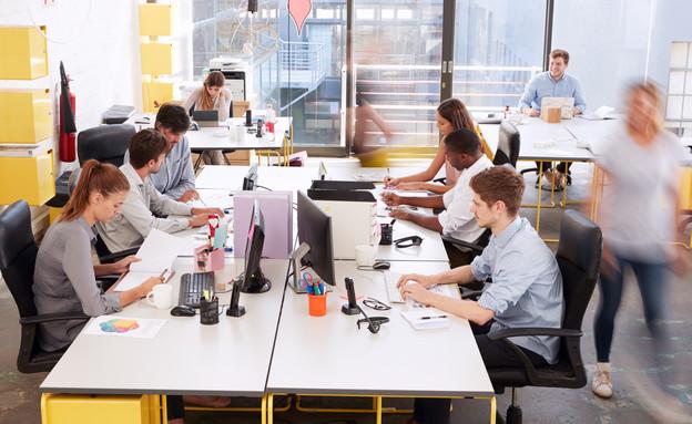 עובדים במשרד הייטק (צילום: By Monkey Business Images, shutterstock)