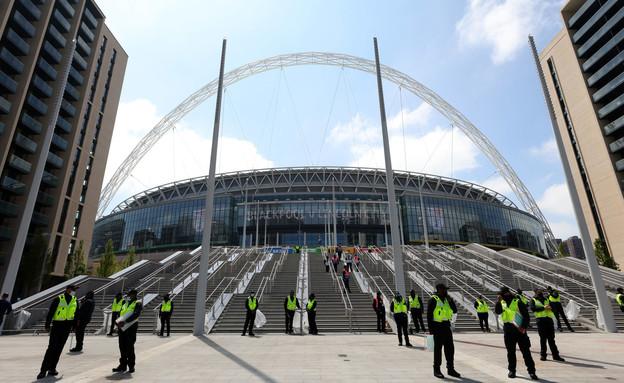 אצטדיון וומבלי לונדון (צילום: getty images)