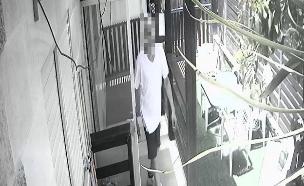 גנב הצימרים (צילום: צילום מסך)